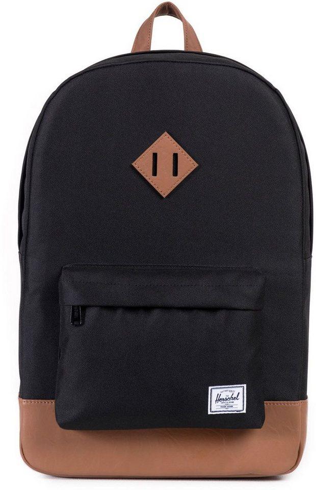 Herschel Rucksack mit Laptopfach, »Heritage Backpack, Black« in schwarz