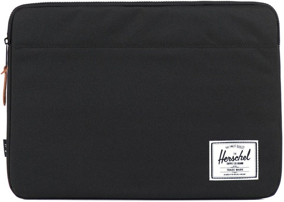 Herschel Notebook Hülle, »Anchor Sleeve, Macbook 15, Macbook Air/Pro, Black« in black