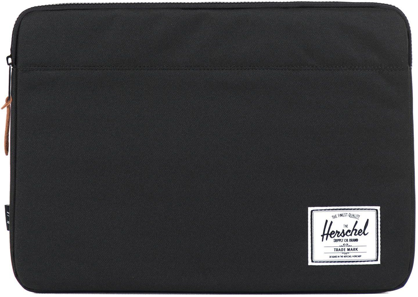 Herschel Notebook Hülle, »Anchor Sleeve, Macbook 15, Macbook Air/Pro, Black«