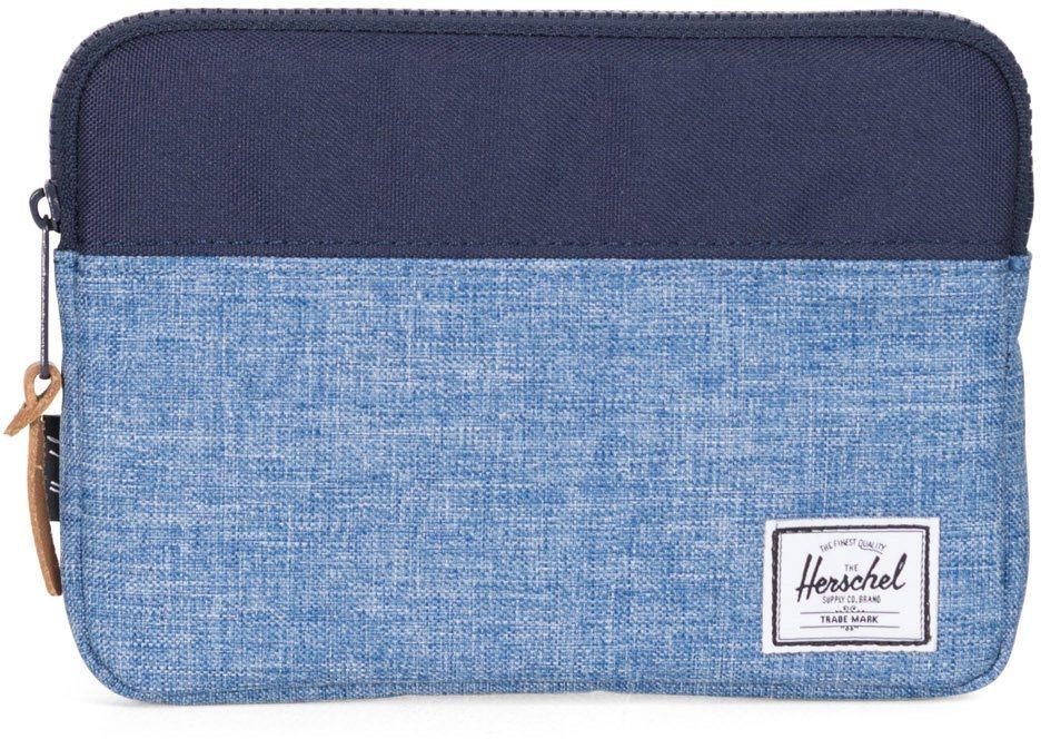 Herschel Tablet Tasche, »Anchor Sleeve, iPad mini, Peacoat/Limoges, Crosshatch« in Peacoat/Limoges