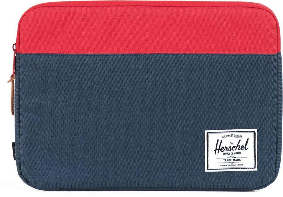 Herschel Notebook Hülle, »Anchor Sleeve, Macbook 13, Macbook Air/Pro, Navy/Red« in Navy/Red