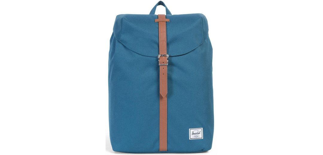 Herschel Rucksack mit Laptopfach, »Post Backpack, Indian Teal, Mid Volume«