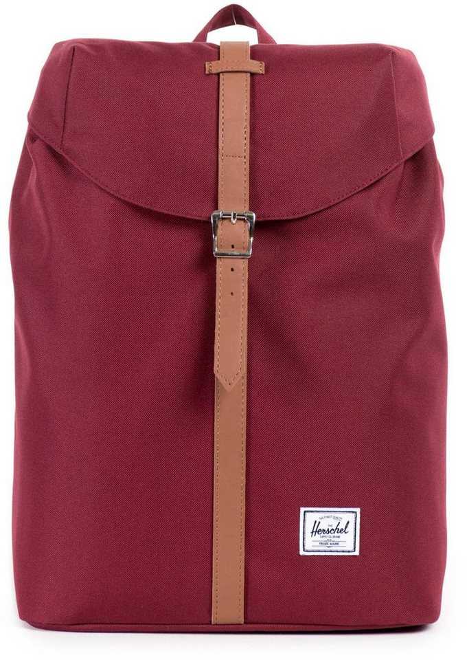 Herschel Rucksack mit Laptopfach, »Post Backpack, Windsor Wine, Mid Volume« in Windsor Wine