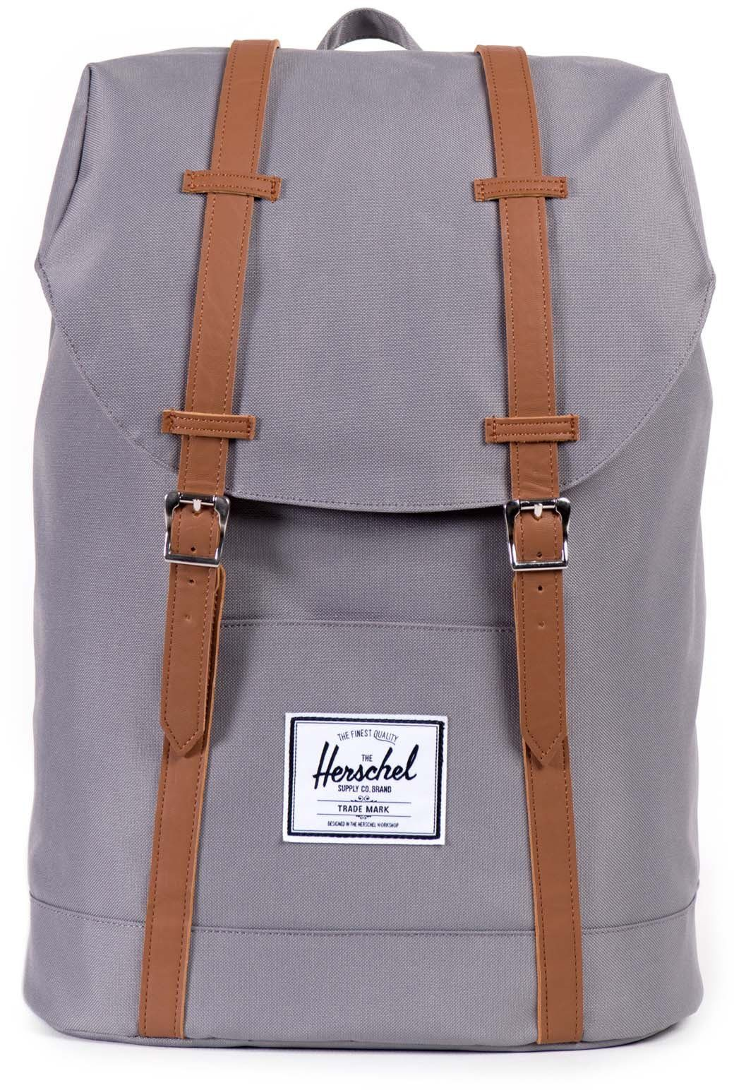 Herschel Rucksack, »Retreat Backpack, Grey«