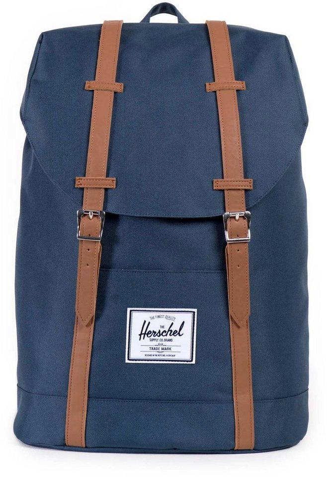 herschel rucksack retreat backpack navy kaufen otto. Black Bedroom Furniture Sets. Home Design Ideas