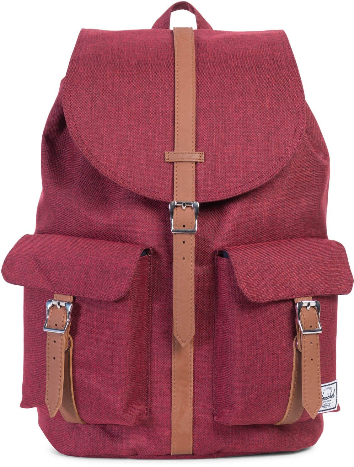 Herschel Rucksack mit Laptopfach, »Dawson Backpack, Winetasting, Crosshatch«