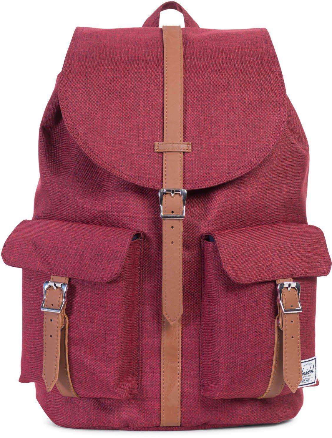 Herschel Rucksack mit Laptopfach, »Dawson Backpack, Winetasting, Crosshatch«