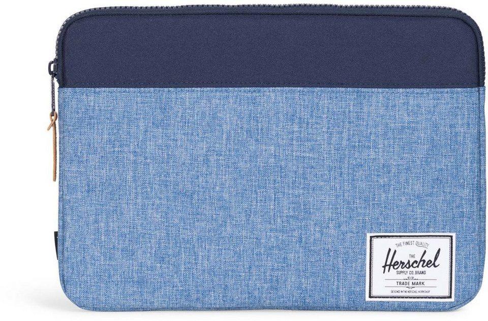 Herschel Notebook Hülle, »Anchor Sleeve, Macbook 13, Macbook Air/Pro, Peacoat/Limoges, Crosshatch« in Peacoat/Limoges