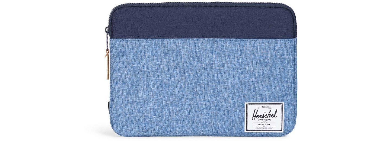 Herschel Notebook Hülle, »Anchor Sleeve, Macbook 13, Macbook Air/Pro, Peacoat/Limoges, Crosshatch«