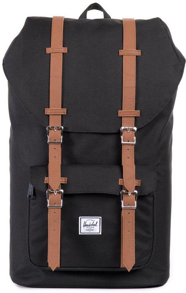 herschel rucksack mit laptopfach little america backpack black online kaufen otto. Black Bedroom Furniture Sets. Home Design Ideas