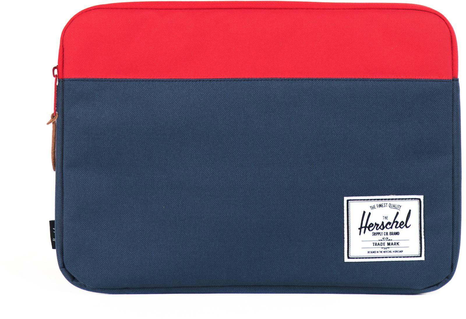 Herschel Notebook Hülle, »Anchor Sleeve, Macbook 15, Macbook Air/Pro, Navy/Red«