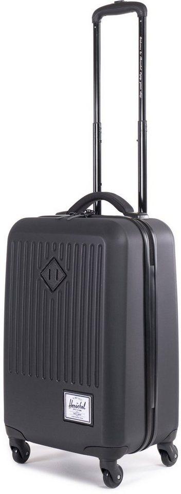 Herschel Hartschalentrolley 4 Rollen, »Trade Luggage« in Black
