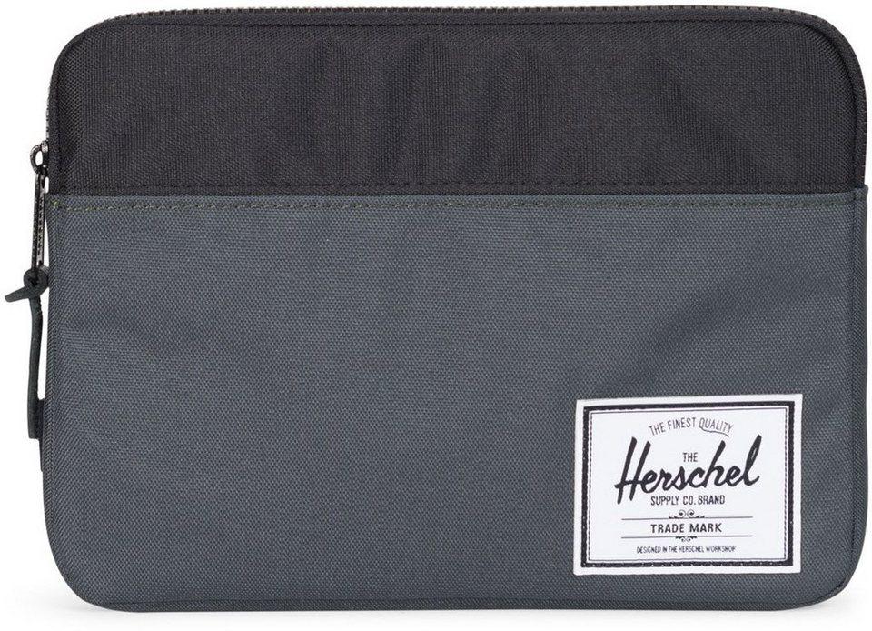 Herschel Tablet Tasche, »Anchor Sleeve, iPad Air, Dark Shadow/Black« in Dark Shadow/Black