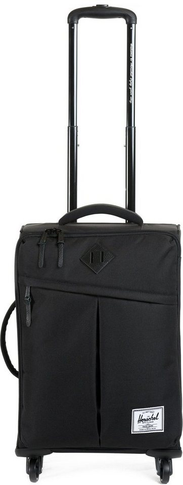 Herschel Weichgepäcktrolley mit 4 Rollen, »Highland Luggage« in Black