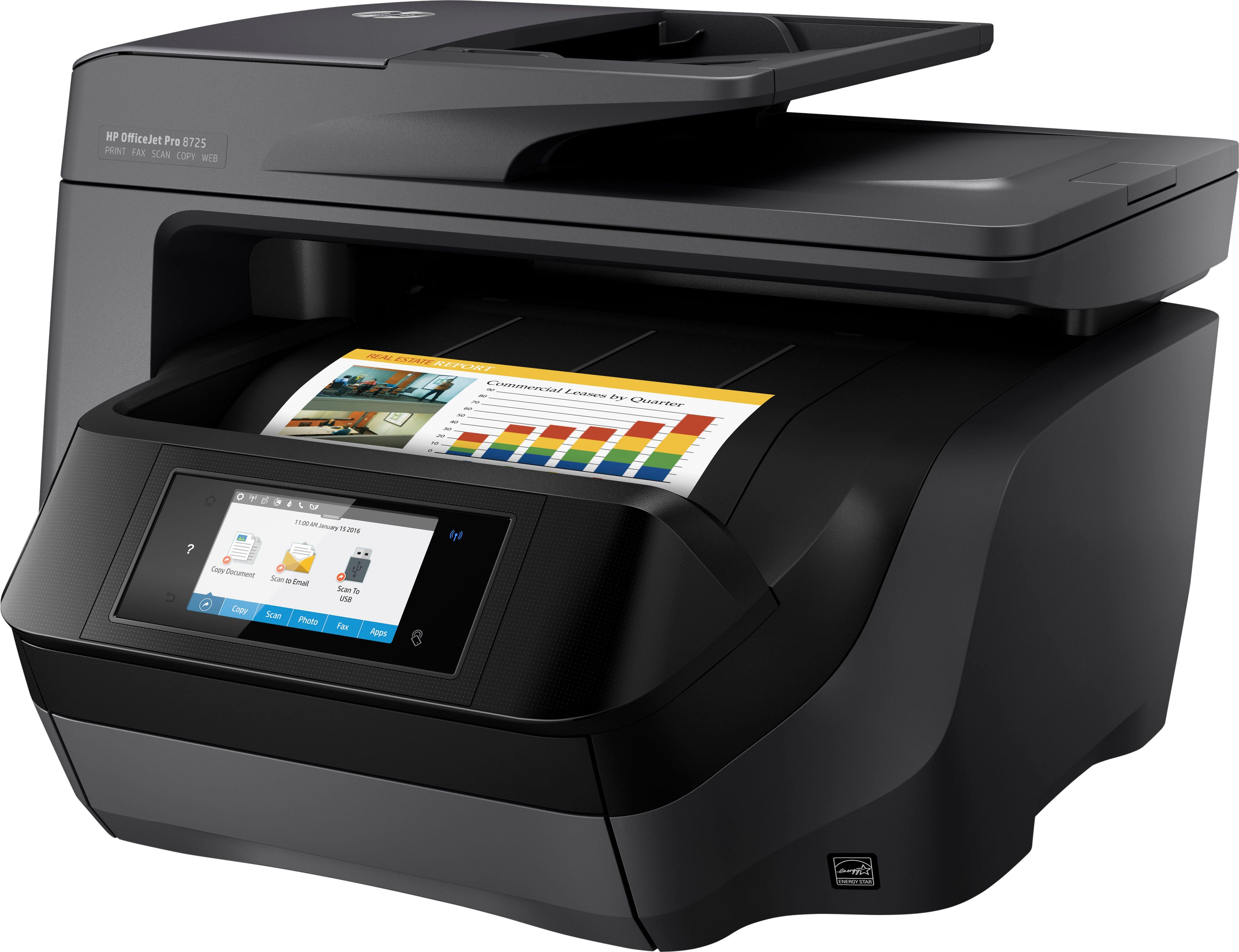 HP OfficeJet Pro 8725 Multifunktionsdrucker