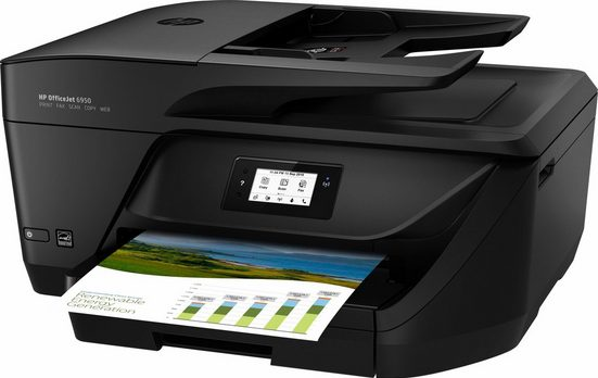 HP OfficeJet 6950 Multifunktionsdrucker, (WLAN (Wi-Fi)