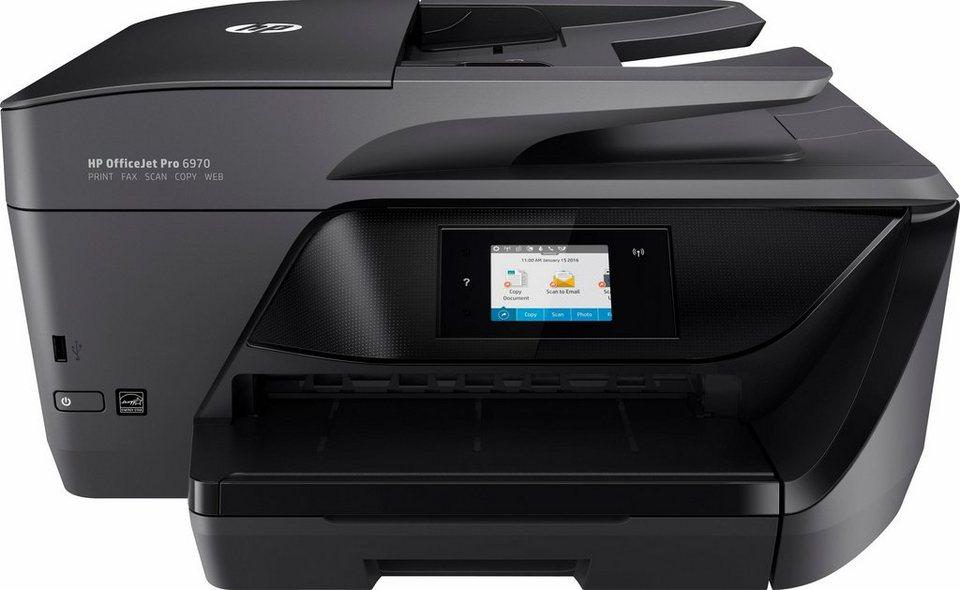 HP OfficeJet Pro 6970 Multifunktionsdrucker in schwarz