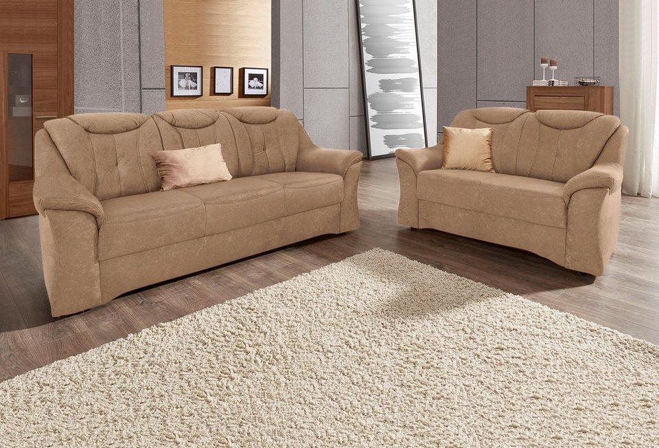 sit more garnitur 3 und 2 sitzer mit komfortablem federkern online kaufen otto. Black Bedroom Furniture Sets. Home Design Ideas