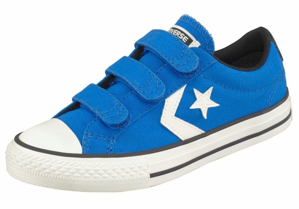 Converse »Converse Star Player 3V Ox Junior« Sneaker in blau-weiß