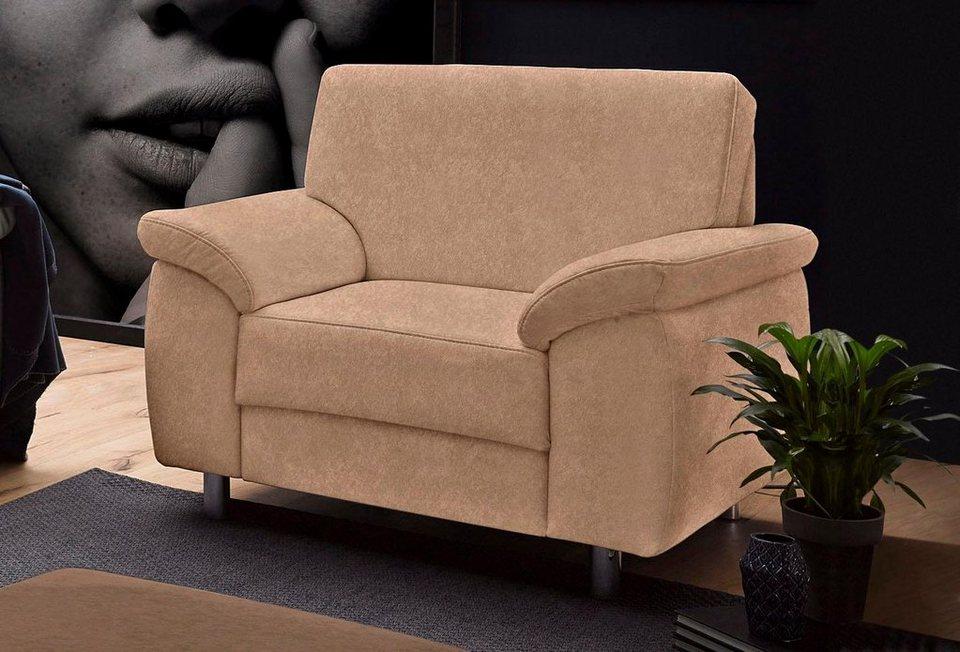 Sit&More Sessel in braun