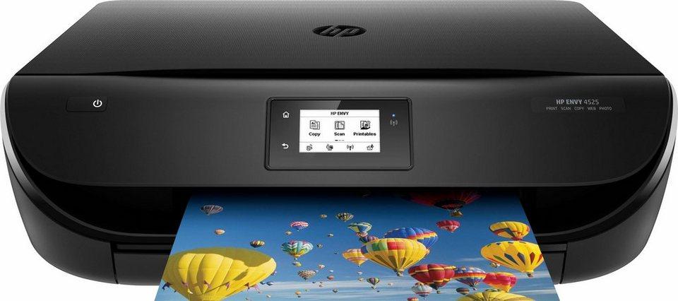 HP ENVY 4525 Multifunktionsdrucker in schwarz