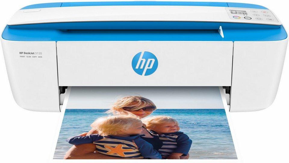 HP Deskjet 3720 Multifunktionsdrucker in blau