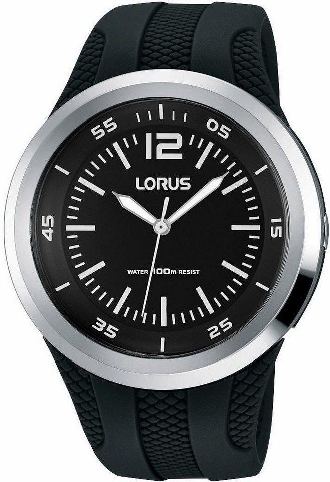 LORUS Quarzuhr »RRX17EX9« Aus dem Hause Seiko in schwarz