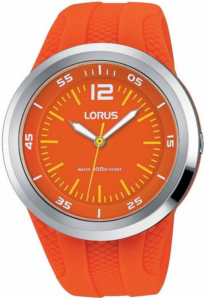 LORUS Quarzuhr »RRX27EX9« Aus dem Hause Seiko in orange