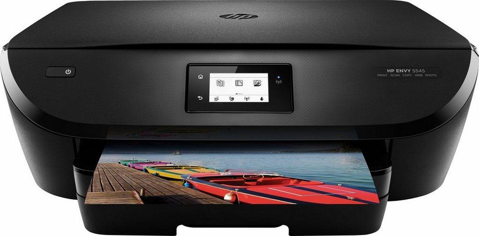 HP Envy 5545 Multifunktionsdrucker in schwarz