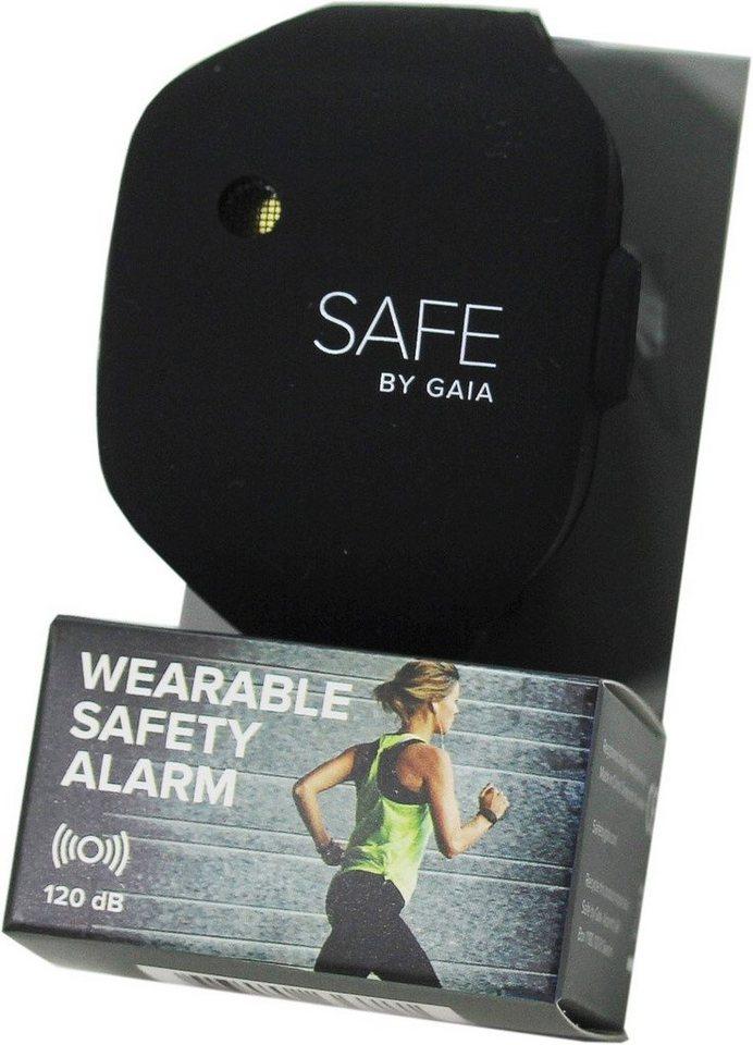 SAFE BY GAIA Alarmarmband, »Safe« in schwarz