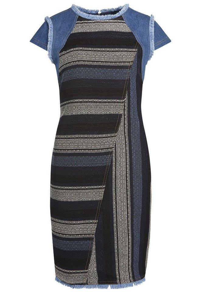 Apart Kleid in tintenblau-multicolor