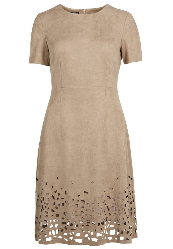 Apart Kleid in taupe
