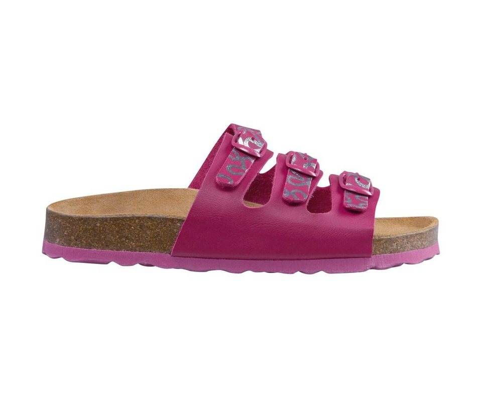 LICO Slipper »BIOLINE TEENAGER« in pink/silber