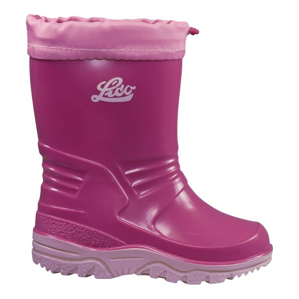 LICO Gummistiefel »Punto« in pink/rosa