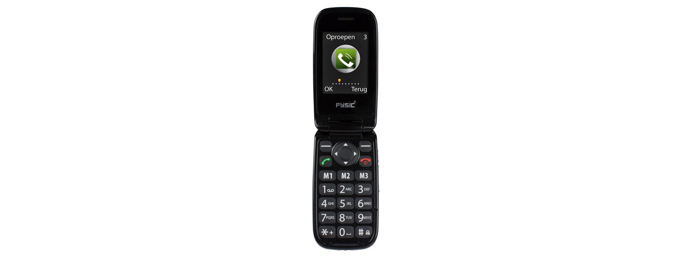 Fysic FM-9770 Klappmobiltelefon für Senioren