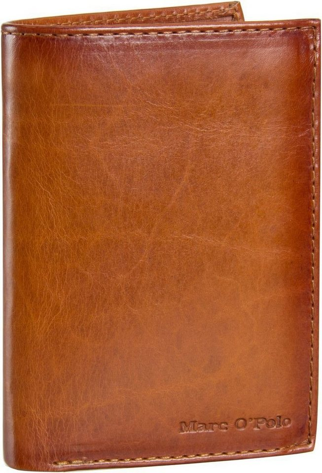 Marc O'Polo Combi Wallet L Authentic Men in Cognac