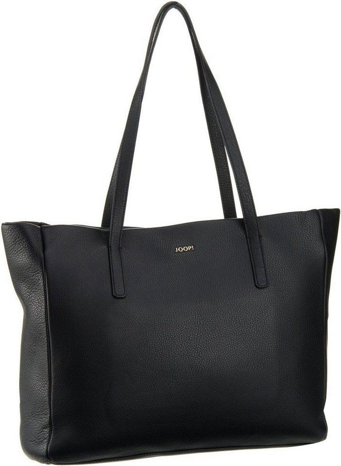 Joop Eva Nature Grain Shopper Large in Black