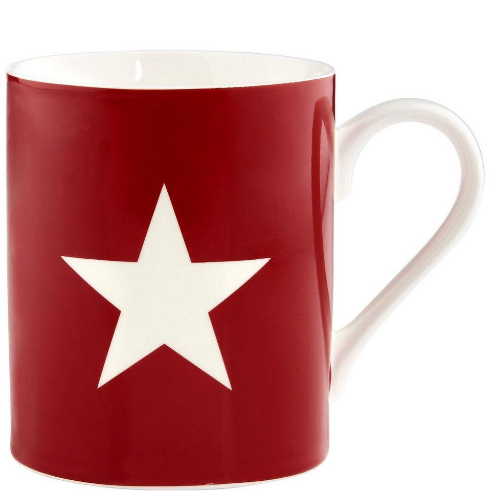 BUTLERS STARS »Tasse Stern« in rot