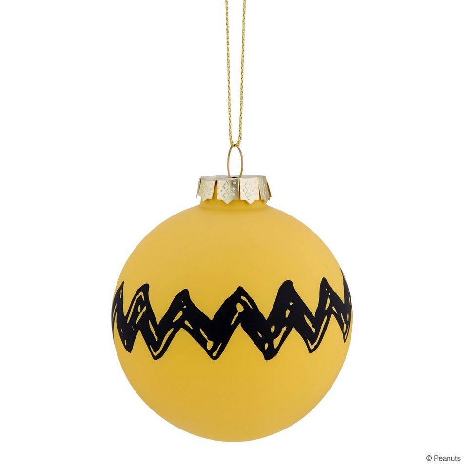 Butlers peanuts glaskugel zickzack online kaufen otto for Butlers weihnachtskugeln