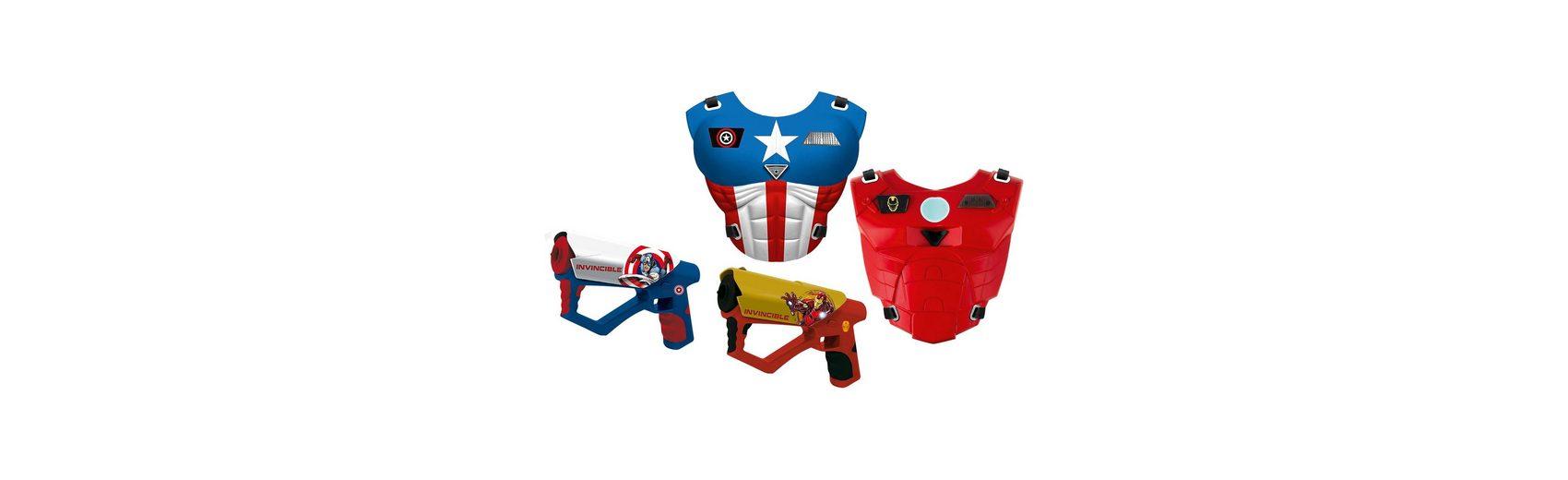 IMC Toys Avengers Mega Laser Set - Iron Man und Captain America