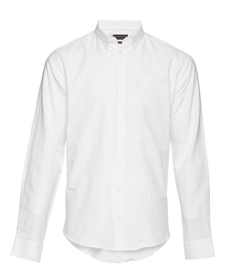 Casual Friday Hemden in Weiss