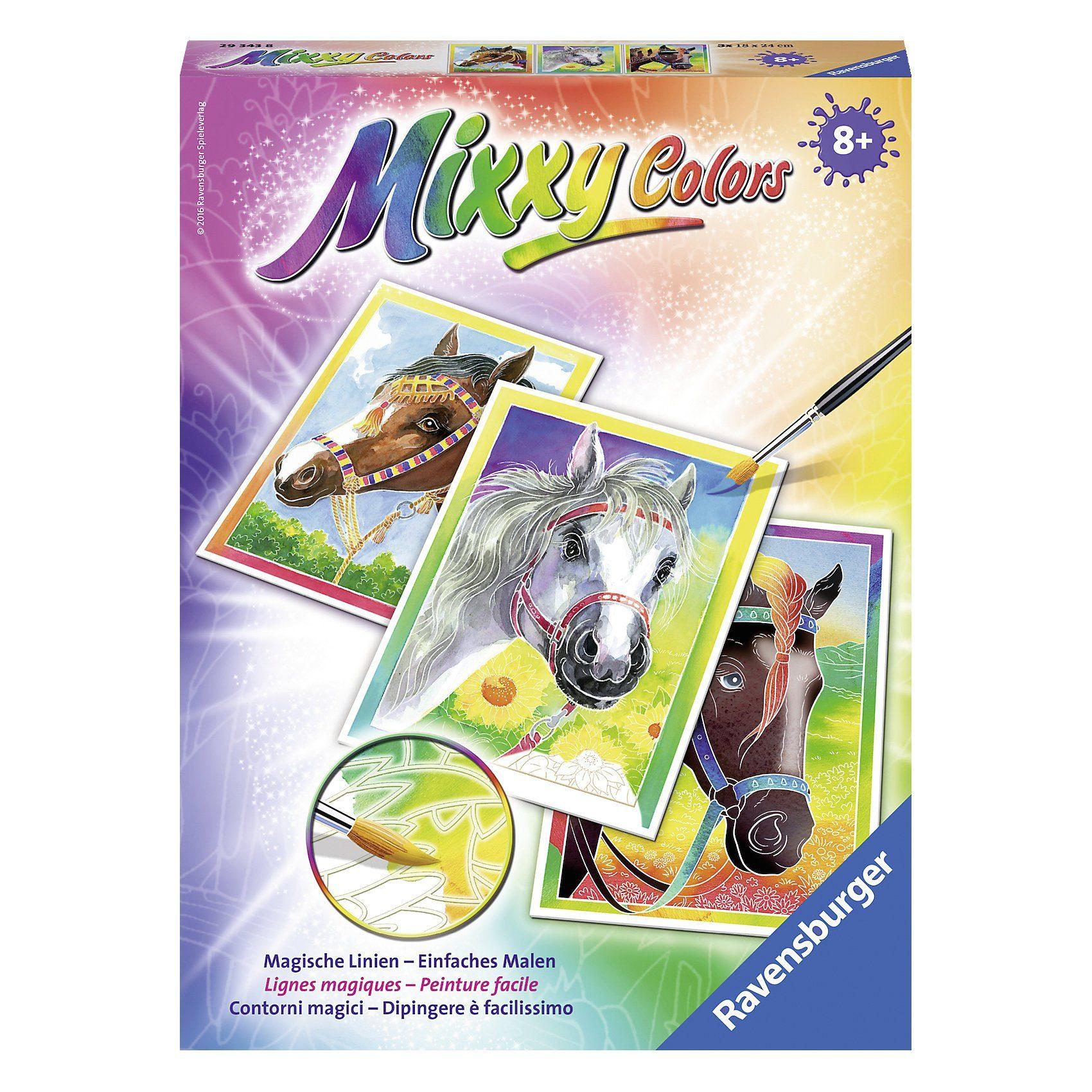 Ravensburger Mixxy Colors Malset Pferde