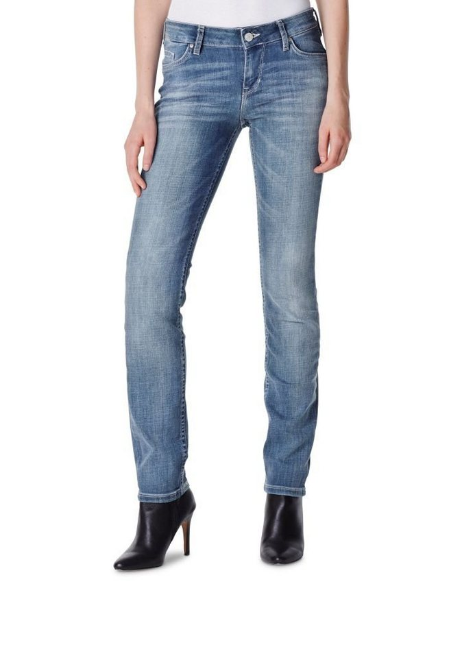 MUSTANG Jeans »Jasmin Slim« in aged bleached