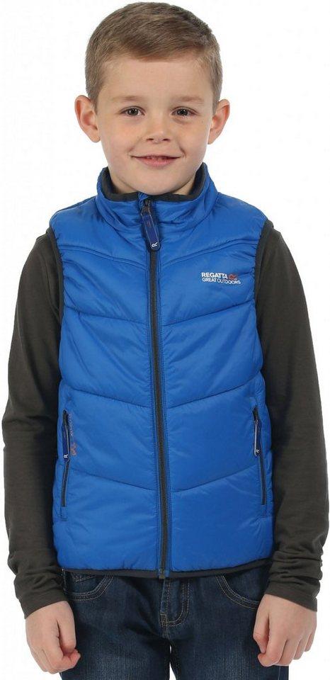 Regatta Weste »Icebound Bodywarmer Jacket Kids« in blau