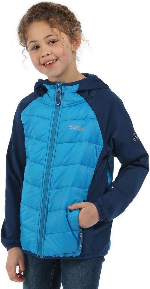 Regatta Outdoorjacke »Kielder Hybrid Jacket Kids« in blau