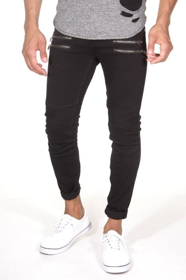 Bright Jeans Stretchjeans slim fit in schwarz