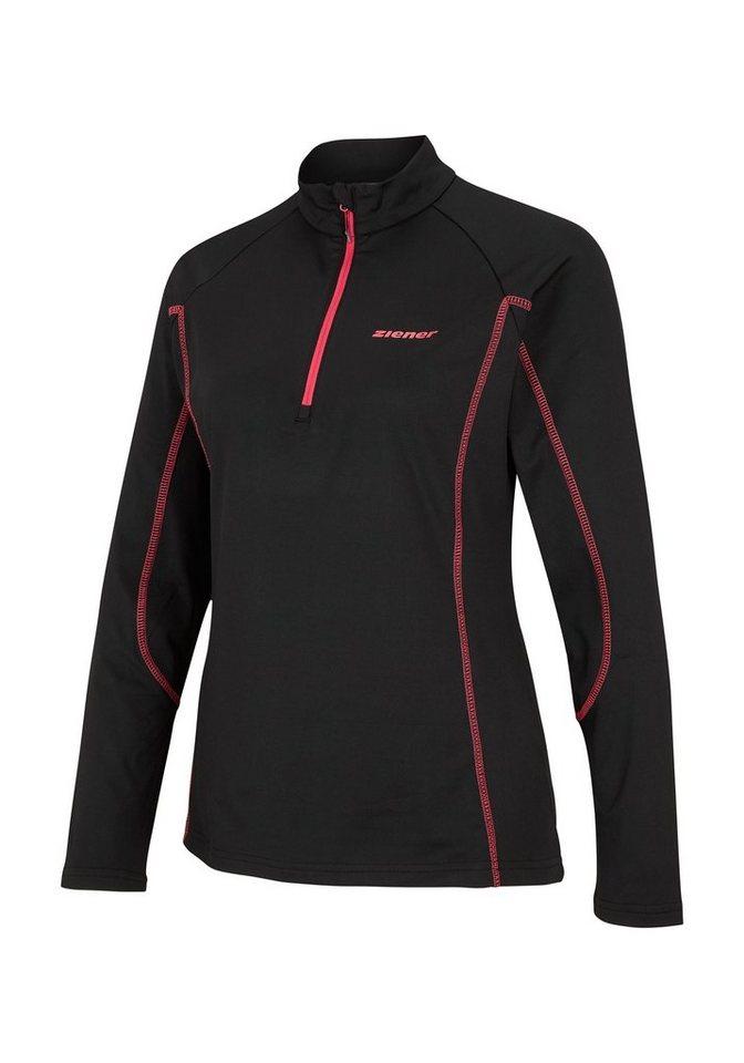 Ziener Unterzieher »PALMINE lady (underlayer shirt)« in black