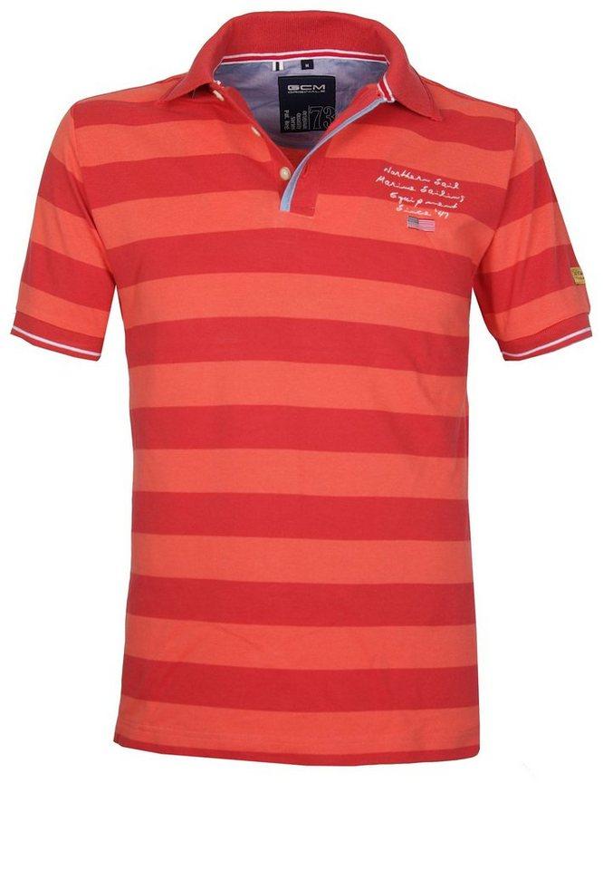 GCM Poloshirt in Rot