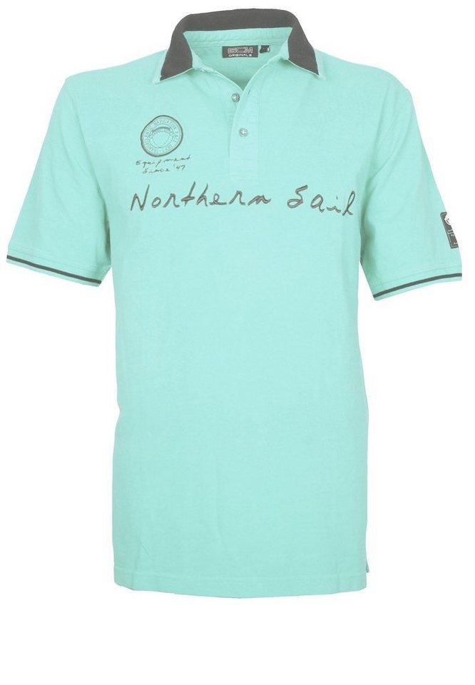 GCM Poloshirt in Mintgrün