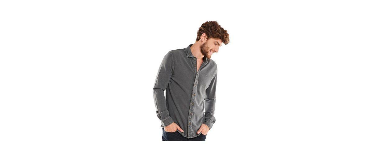 emilio adani Poloshirt langarm Manchester Ausgezeichnet Günstig Kaufen Mit Kreditkarte BoKhxE
